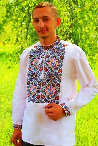 Мужская вышиванка Виктор