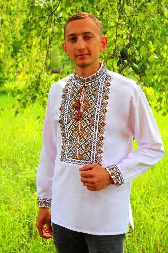 Мужская вышиванка Степан