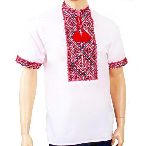 Мужская вышиванка Федор (короткий рукав)