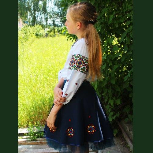 Детский вышитый комплект Роксолана