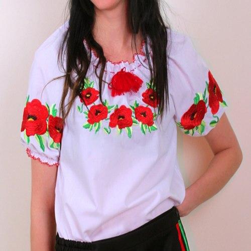 Детская блуза Эко-маки (кор. рукав)