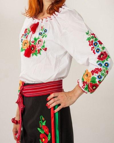 Подростковая вышитая блуза Диана