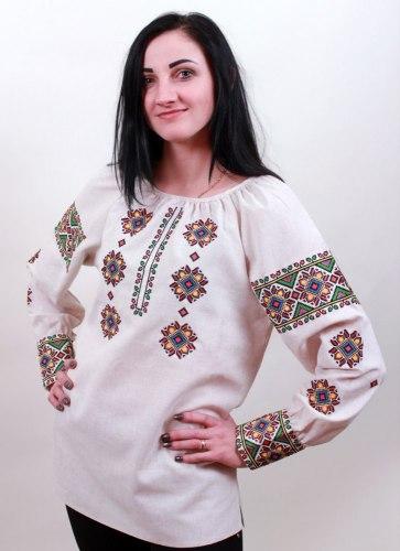 Подростковая вышитая блуза Роксолана