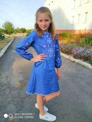 Детское вышитое платье Кира