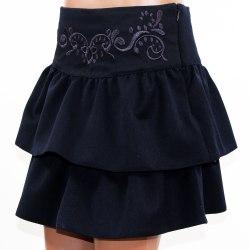 Детская вышитая юбка Школьница