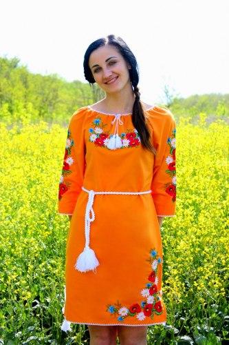 Женское вышитое платье Марися