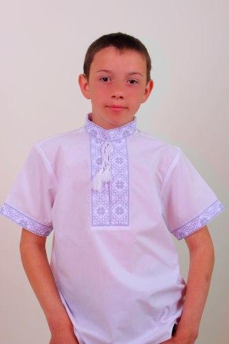 Детская вышиванка Федор (кор. рукав)