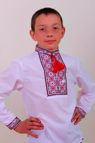 Детская вышиванка для мальчика Руслан