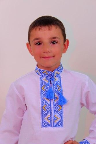 Детская вышиванка для мальчика Майкл