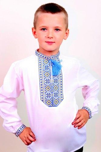 Детская вышиванка для мальчика Козачок