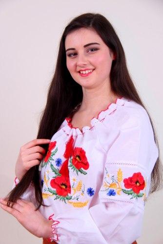 Вышитая блуза Тамара