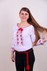 Вышитая блуза Оксана