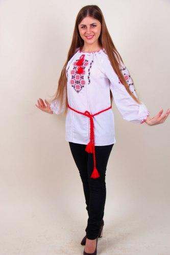 Вышитая блуза Марьяна