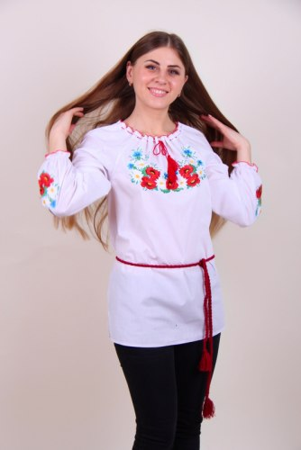 Вышитая блуза Марися
