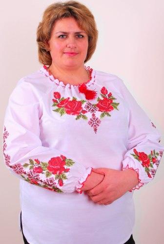 Вышитая блуза Зоряна