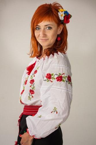 Вышитая блуза Кристина
