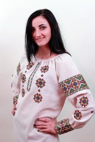 Вышитая блуза Роксолана