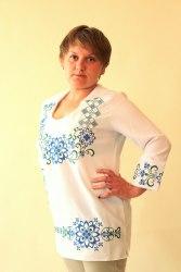 Вышитая блуза Вита