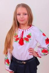 Детская вышитая блуза Еко-мак
