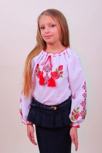 Детская вышитая блуза Зоряна