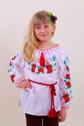 Детская вышитая блуза Марися