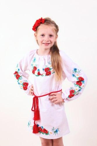 Детское вышитое платье Марися