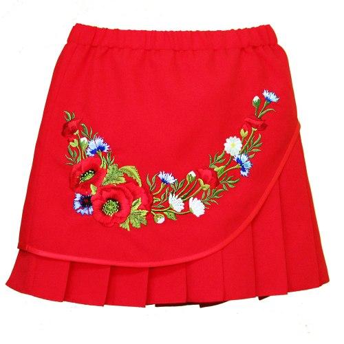 Детская вышитая юбка Марися