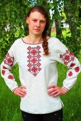 Вышитая блуза Наталка