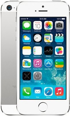 IPhone 5s 16GB Silver apple