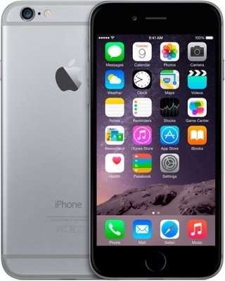 IPhone 6 128Gb Space Grey apple