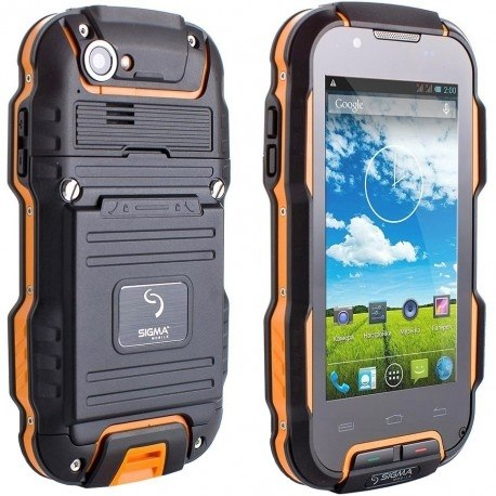 Смартфон Sigma mobile X-treme PQ23 Black-Orange Sigma