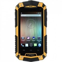 Смартфон Sigma Х-treme PQ16 yellow Sigma