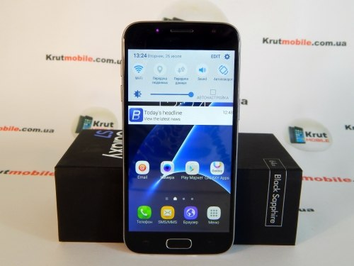 Копия Samsung Galaxy S7 Black 32Gb +подарок Samsung