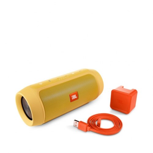 Акустика JBL Charge 2 Plus yellow