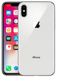 Копия iPhone X 64Gb Silver apple