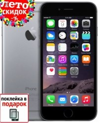 Копия iPhone 6 Spase Gray 16Gb apple