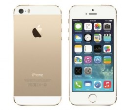 Копия iPhone 5s 16Gb, 4 ядра Gold apple