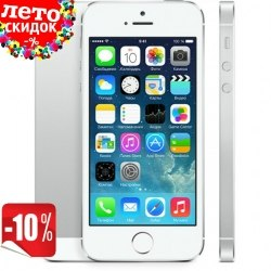 Копия iPhone 5s 2-ядра |Android 4.0| 3G White apple