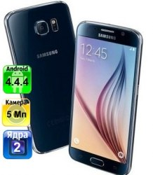 Копия Samsung Galaxy S6 Black 2-ядра Android 4.4.4 Samsung