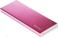 Eloop E17 Power bank 10000mAh Pink
