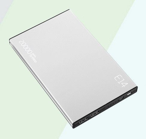 Power Bank Eloop E14 silver 20000 mah