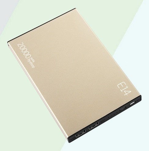 Eloop E14 Power bank 20000mAh Gold