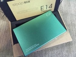 Eloop E14 Power bank 20000mAh Green