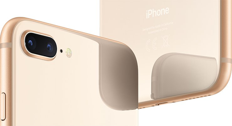 копия iPhone 8 plus Gold