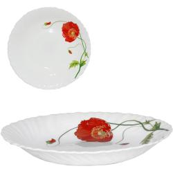 30067-1067 Тарелка суп 8,5 Красный мак