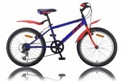 Велосипед Racer Turbo 20 2.0 (синий/красный)
