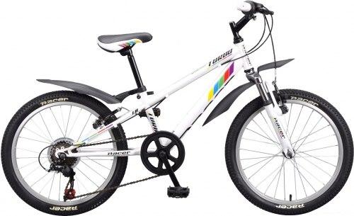 Велосипед Racer Turbo 20 2.0 (белый)