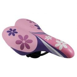 Седло DDK 1217A Flower (розовый/фиолетовый)