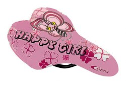 Седло DDK 1217A Happi girl (розовый/розовый)