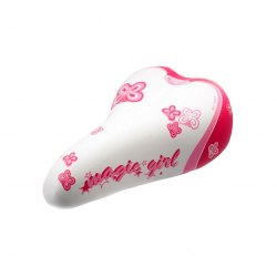Седло MONTE GRAPPA MAGIC GIRL бело-розовый